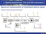 3 optical beamformer e o and o e conversion9