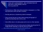 ohio anti harassment anti intimidation or anti bullying model policy per house bill 2761