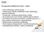 crnogorski kvalifikacioni okvir ciljevi