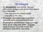 strateegia