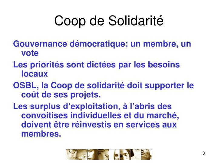 Coop de solidarit