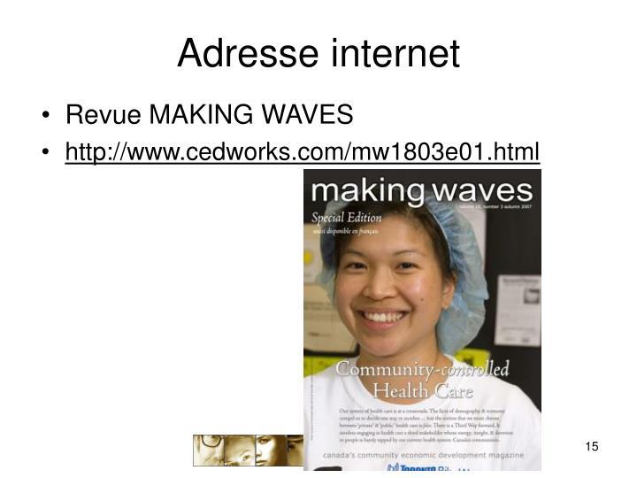 Adresse internet