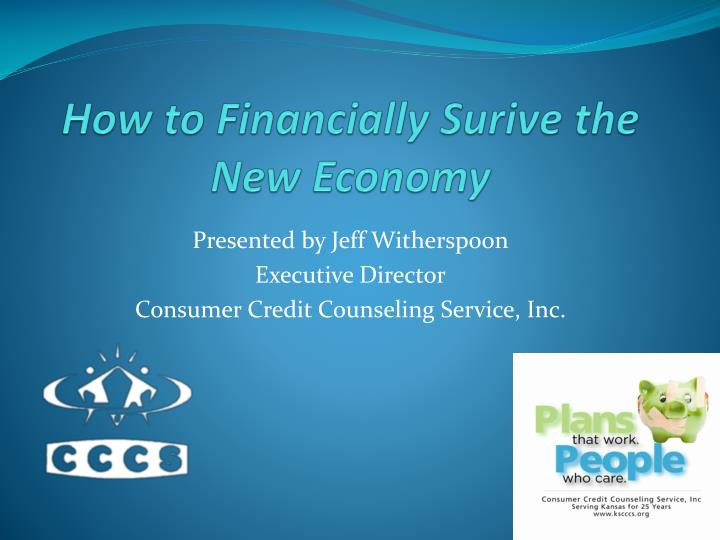 how to financially surive the new economy n.