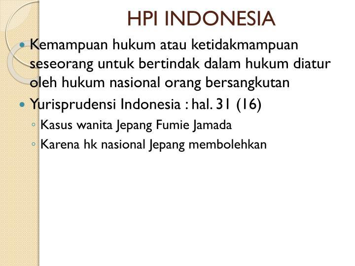 HPI INDONESIA