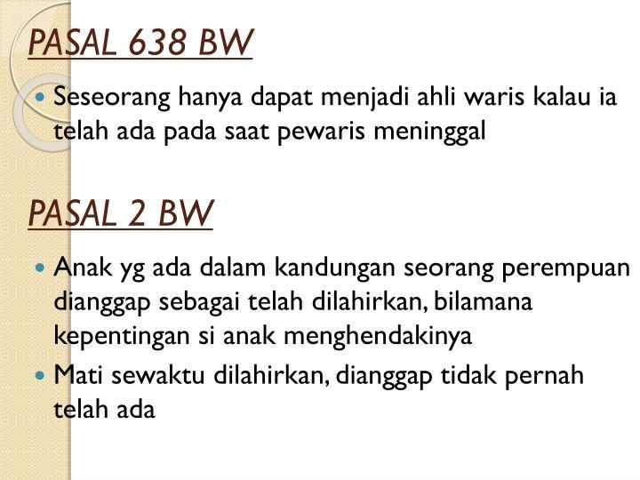 PASAL 638 BW