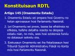 konstituisaun rdtl