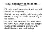 boy dog may open doors oregonian march 12 2011