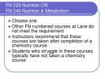 fn 225 nutrition or fn 240 nutrition metabolism