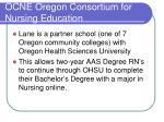 ocne oregon consortium for nursing education