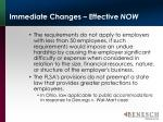 immediate changes effective now20