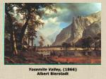 yosemite valley 1866 albert bierstadt