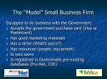 the model small business firm1