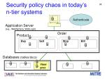 security policy chaos in today s n tier systems1