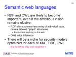 semantic web languages