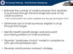 exchange planning small business workgroup