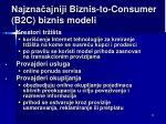 najzna ajniji b iznis to consumer b2c biznis m odel i5