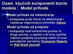 osam klju ni h komponenti biznis m odel a model prihoda1