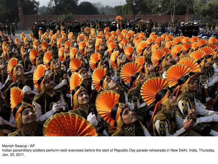 Manish Swarup / AP