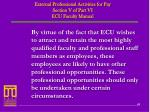 external professional activities for pay section v of part vi ecu faculty manual