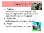 property pt 2