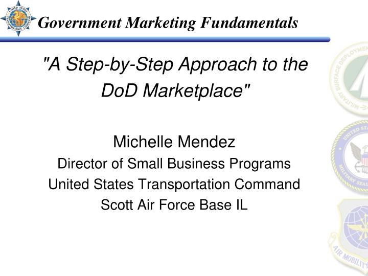 government marketing fundamentals n.