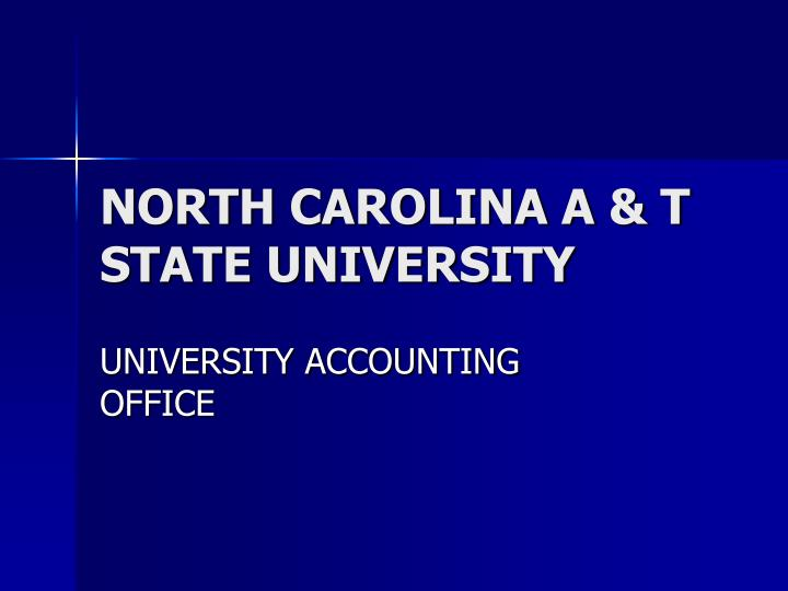 north carolina a t state university n.