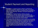 student payment and reporting10