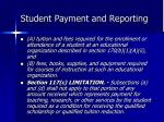 student payment and reporting3