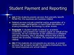 student payment and reporting9