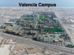 valencia campus