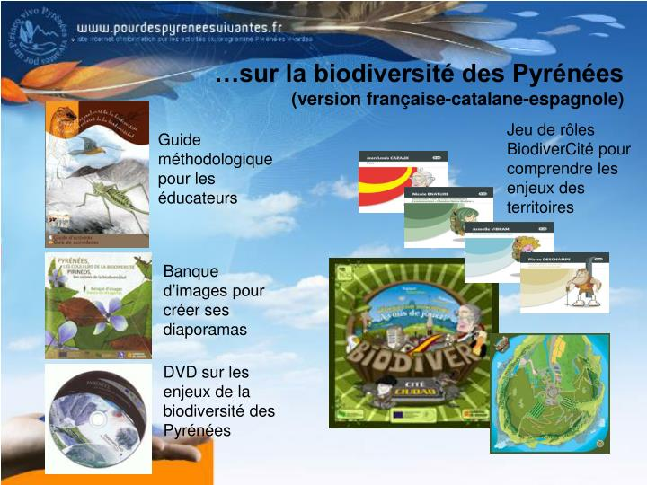 …sur la biodiversité des Pyrénées