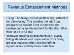revenue enhancement methods