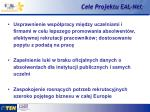 cele projektu eal net1