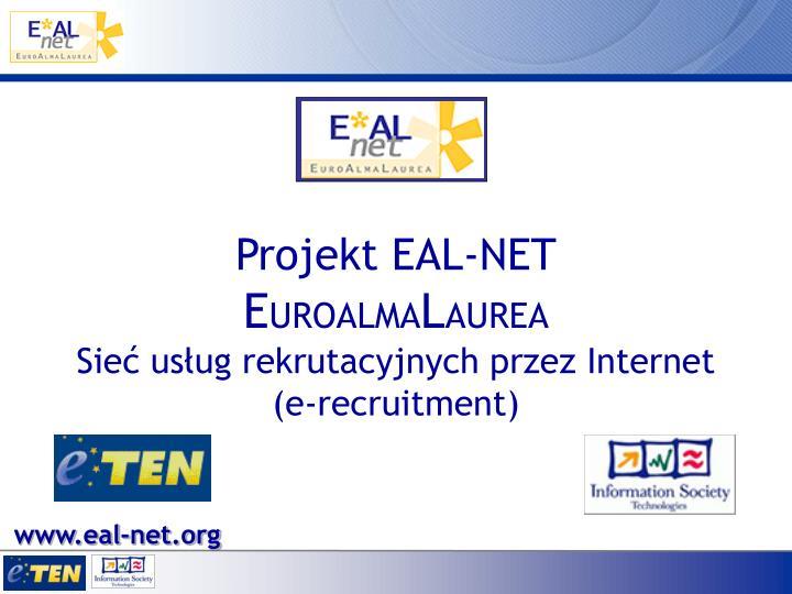 Projekt EAL-NET
