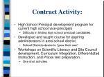contract activity1