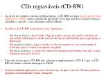 cds regrav veis cd rw