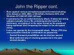 john the ripper cont