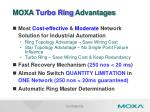 moxa turbo ring advantages