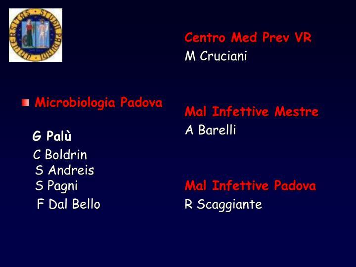 Microbiologia Padova