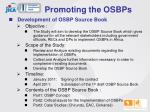 promoting the osbps