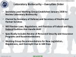 laboratory biosecurity executive order