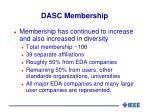 dasc membership