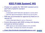 ieee p1666 systemc wg
