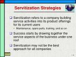 servitization strategies