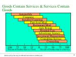 goods contain services services contain goods