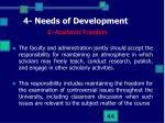 4 needs of development3