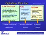 definitions web sites