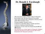 dr ronald j farabaugh