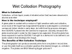 wet collodion photography