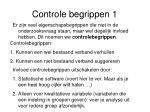 controle begrippen 1